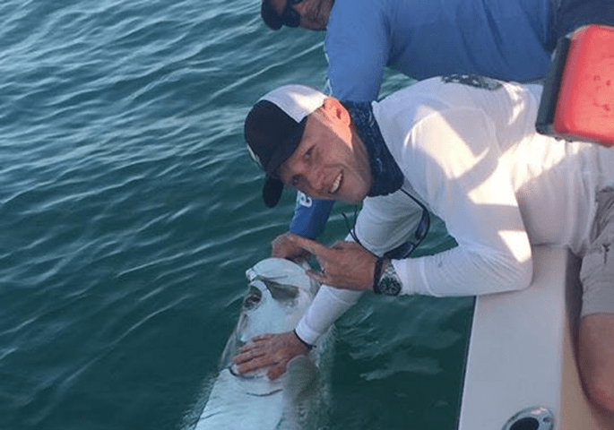 Pet the Tarpon